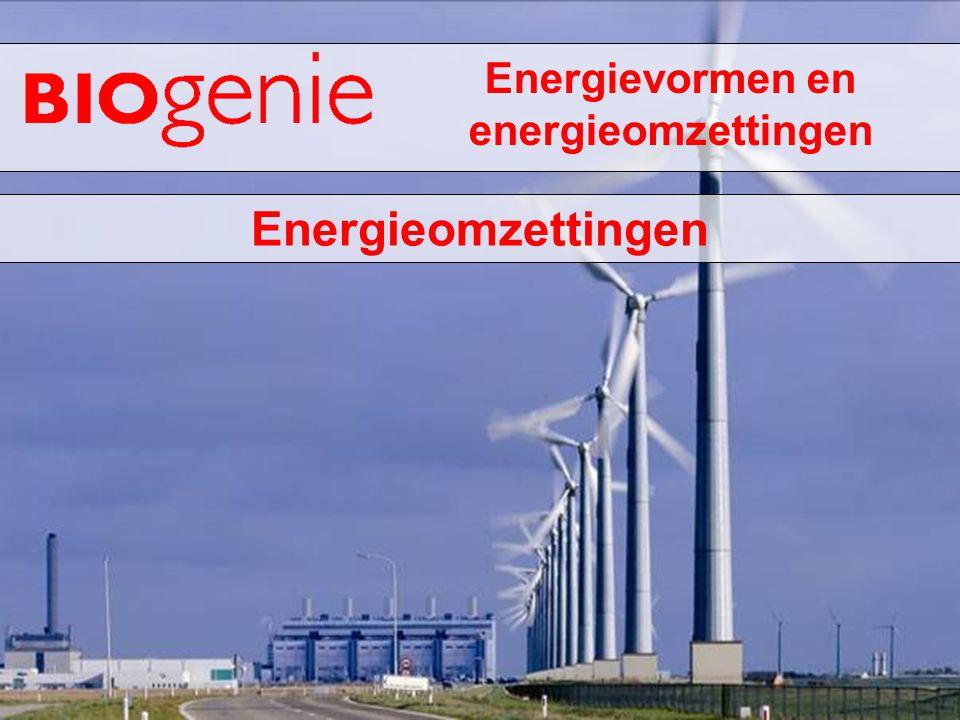 Energievormen en energieomzettingen