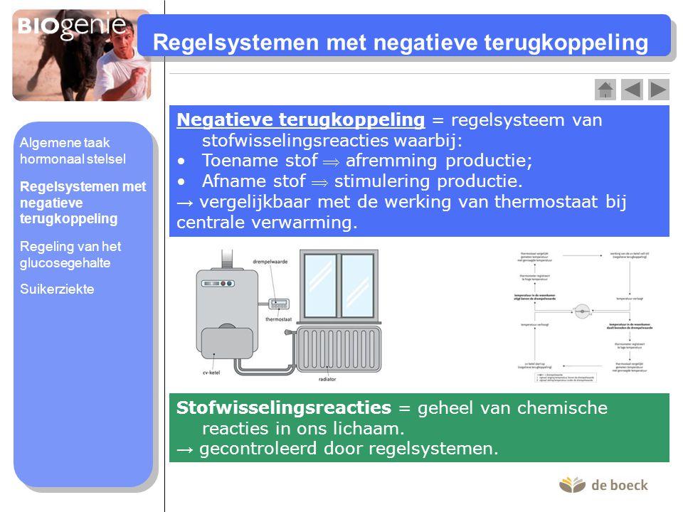 Regelsystemen met negatieve terugkoppeling