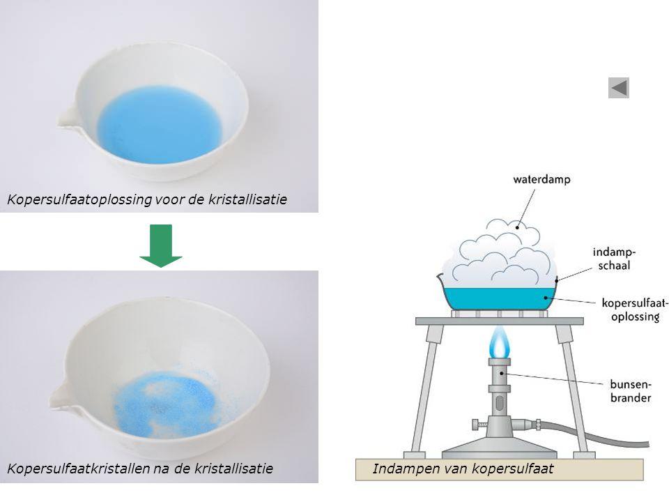 Kopersulfaatoplossing voor de kristallisatie