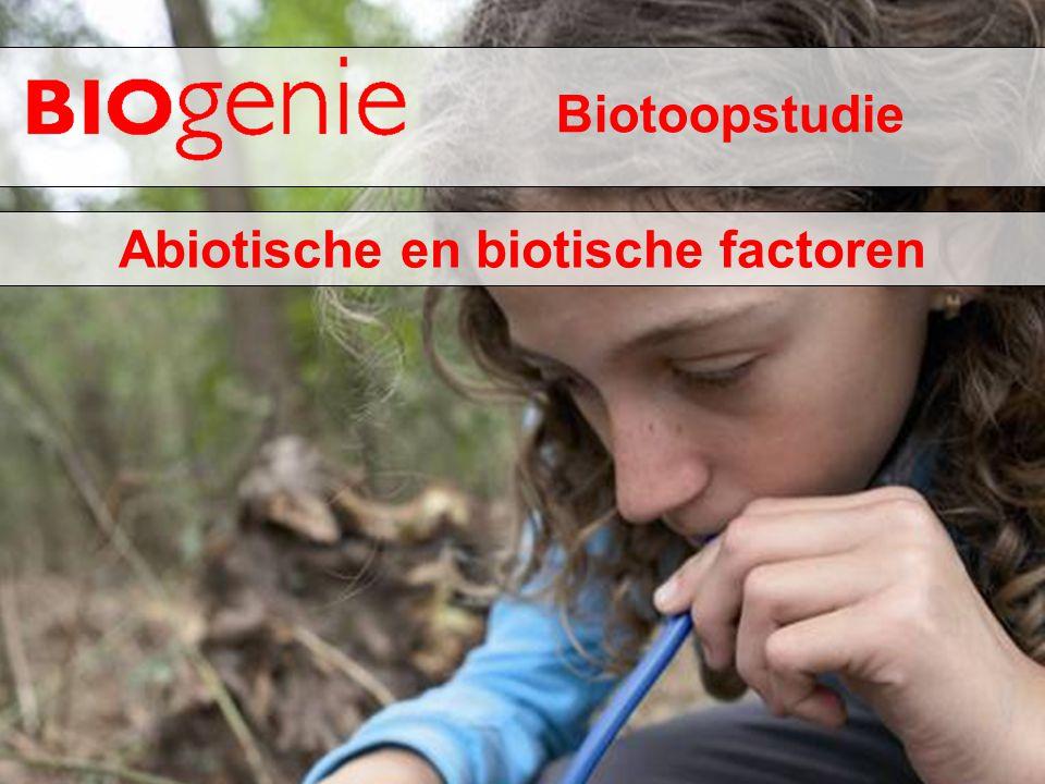 Abiotische en biotische factoren