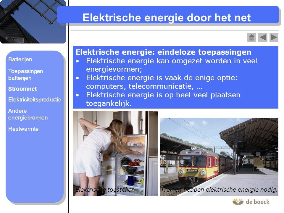 Elektrische energie door het net