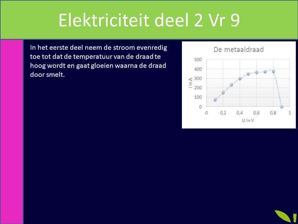 Elektriciteit deel 2 Vr 9
