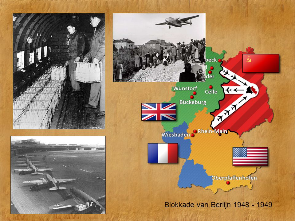 De Koude Oorlog Blokkade van Berlijn 1948 - 1949