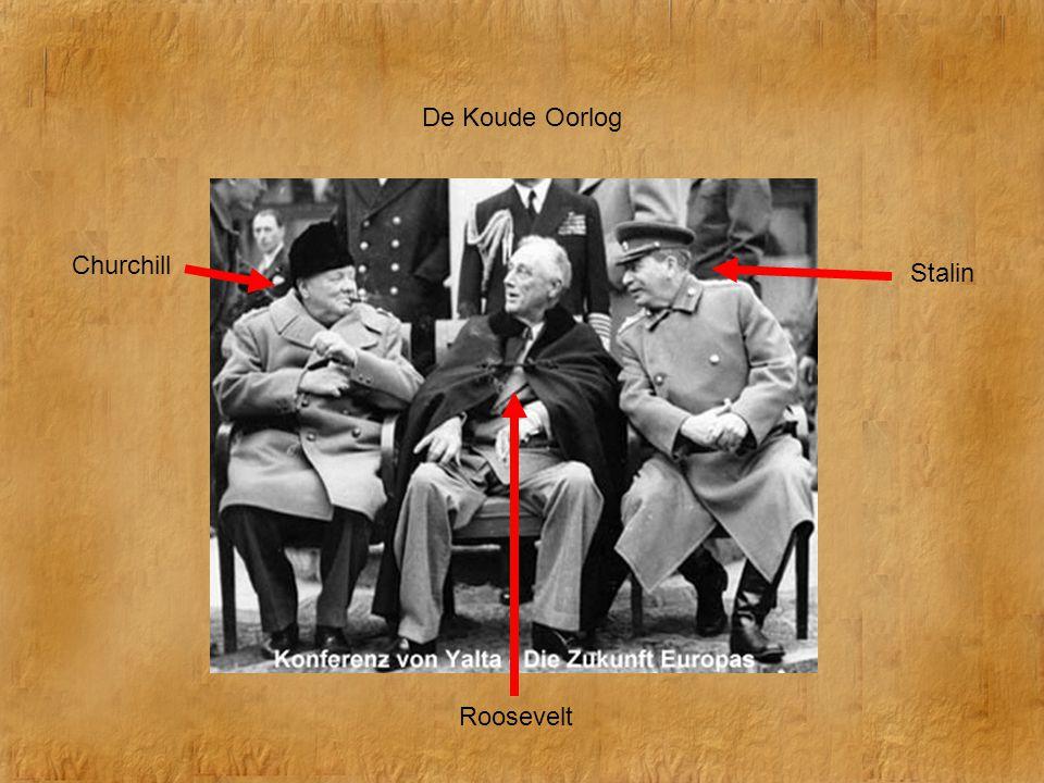De Koude Oorlog Churchill Stalin Roosevelt