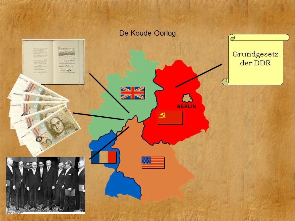 De Koude Oorlog Grundgesetz der DDR