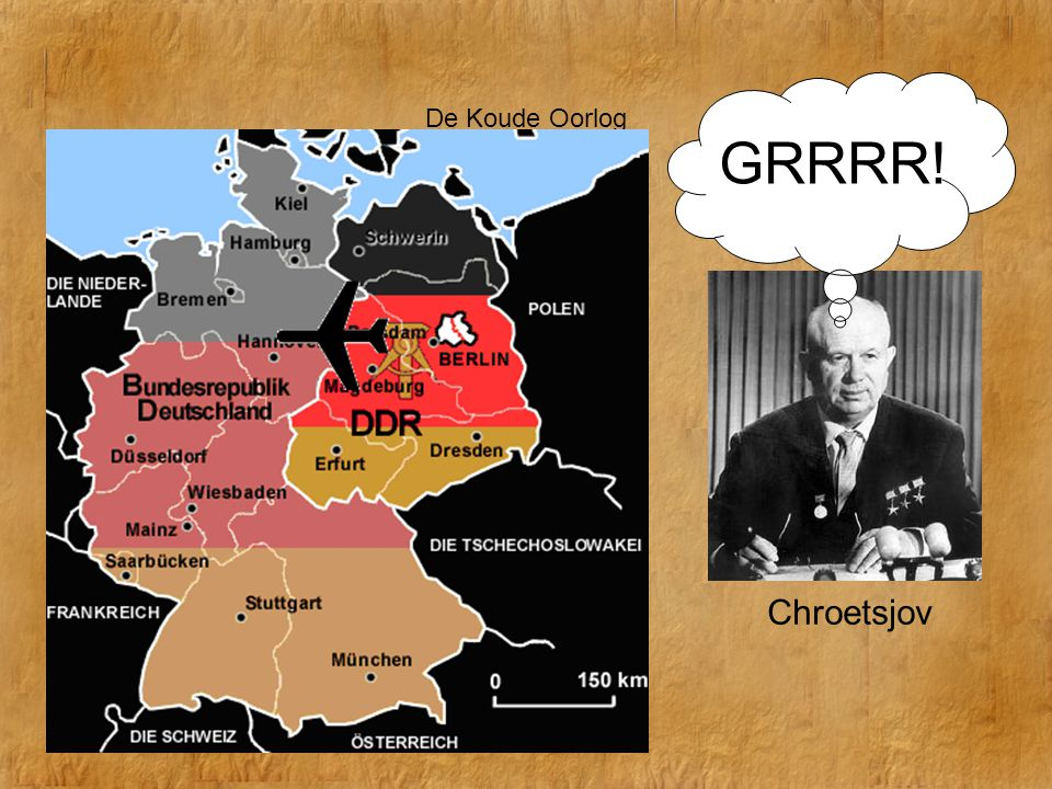 De Koude Oorlog GRRRR! Chroetsjov