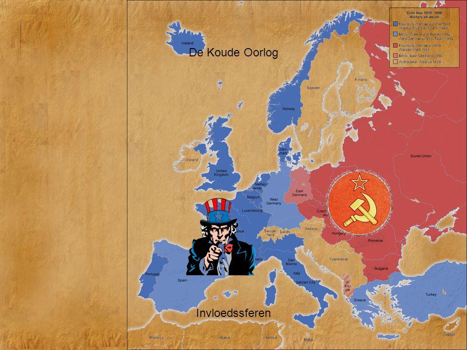 De Koude Oorlog Invloedssferen