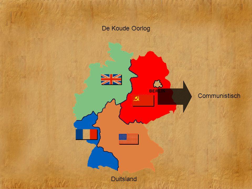 De Koude Oorlog Communistisch Duitsland