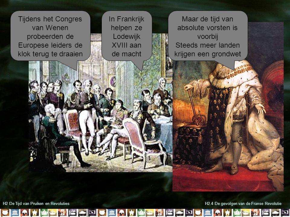 In Frankrijk helpen ze Lodewijk XVIII aan de macht