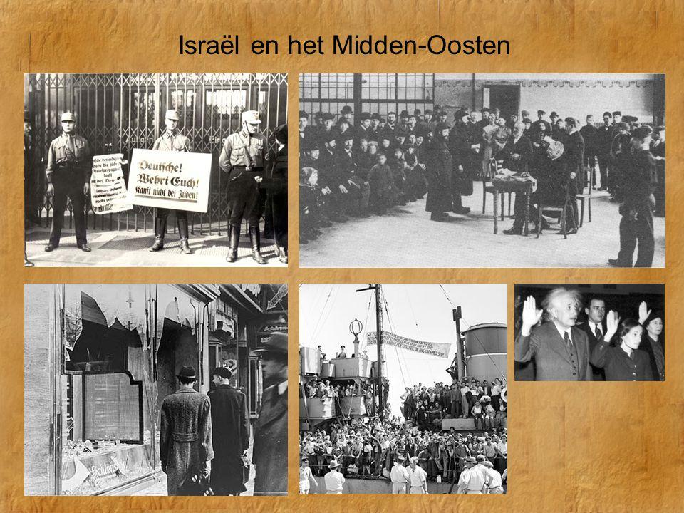 Israël en het Midden-Oosten