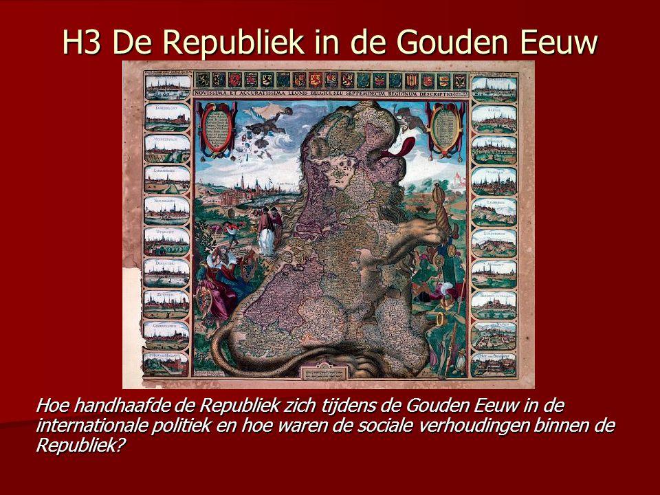 H3 De Republiek in de Gouden Eeuw