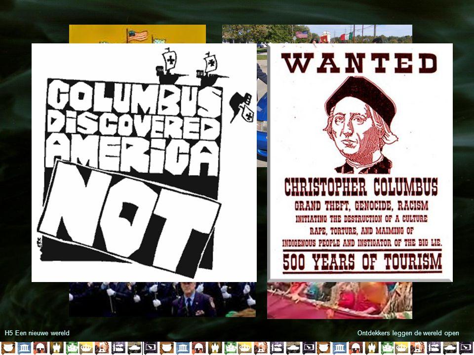 H5 Een nieuwe wereld Ontdekkers leggen de wereld open