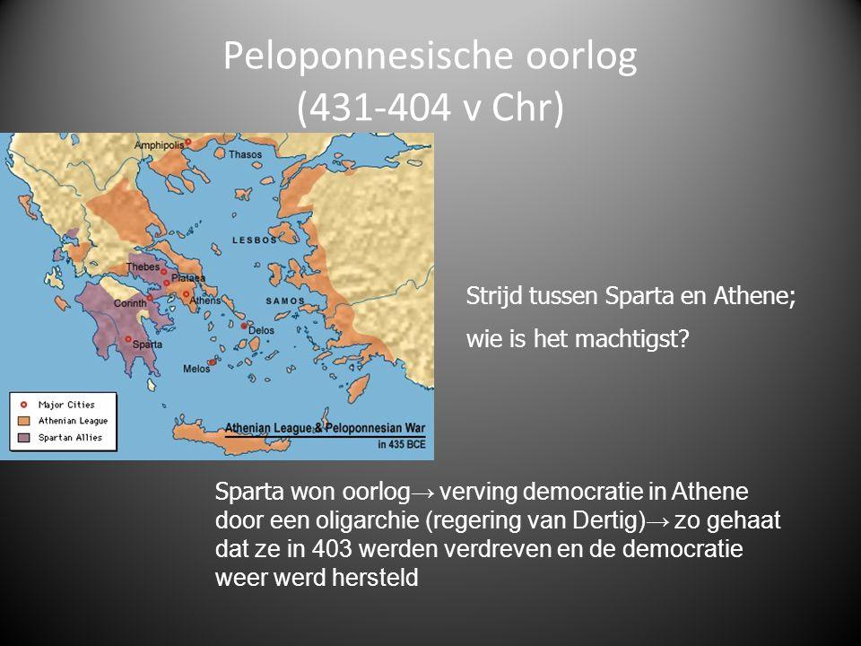 Peloponnesische oorlog (431-404 v Chr)
