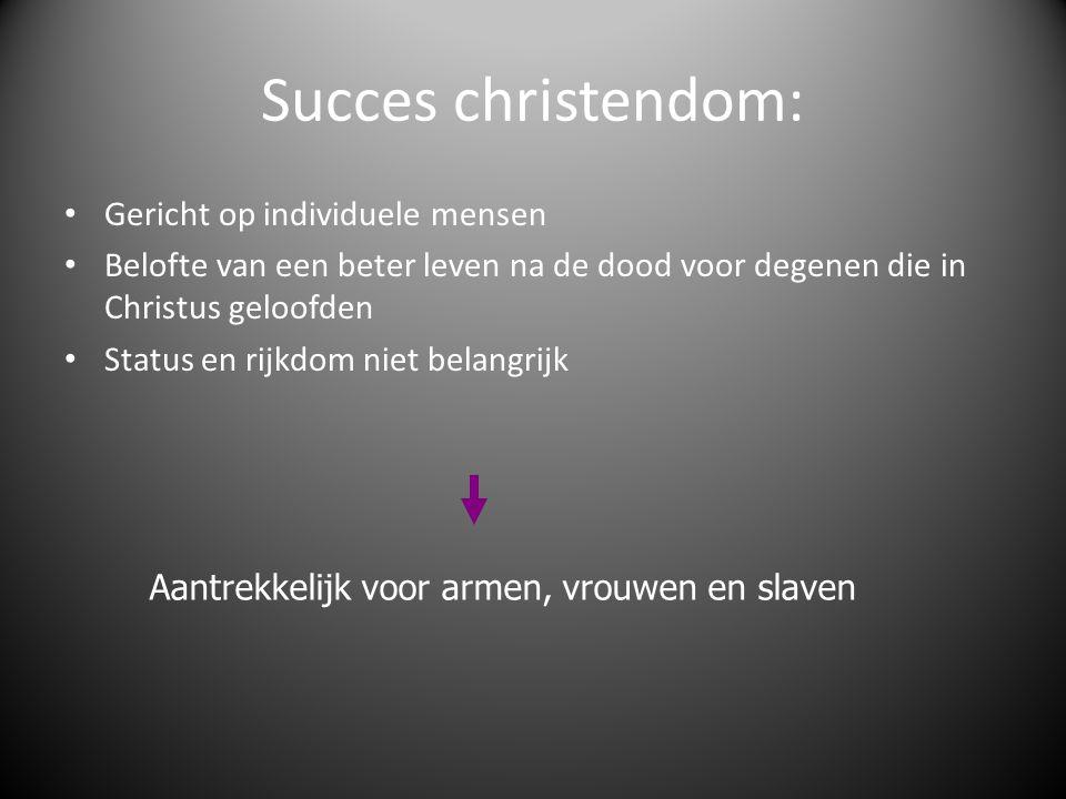 Succes christendom: Gericht op individuele mensen