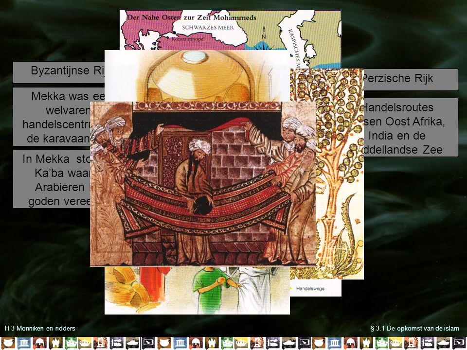 Mekka was een welvarend handelscentrum op de karavaanroute