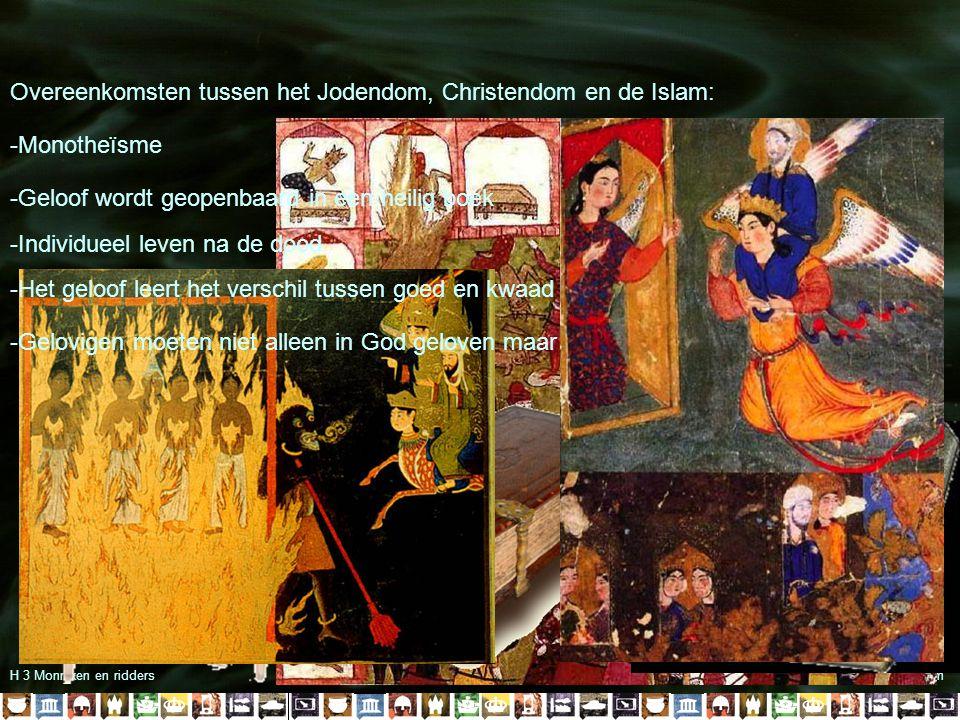 Overeenkomsten tussen het Jodendom, Christendom en de Islam:
