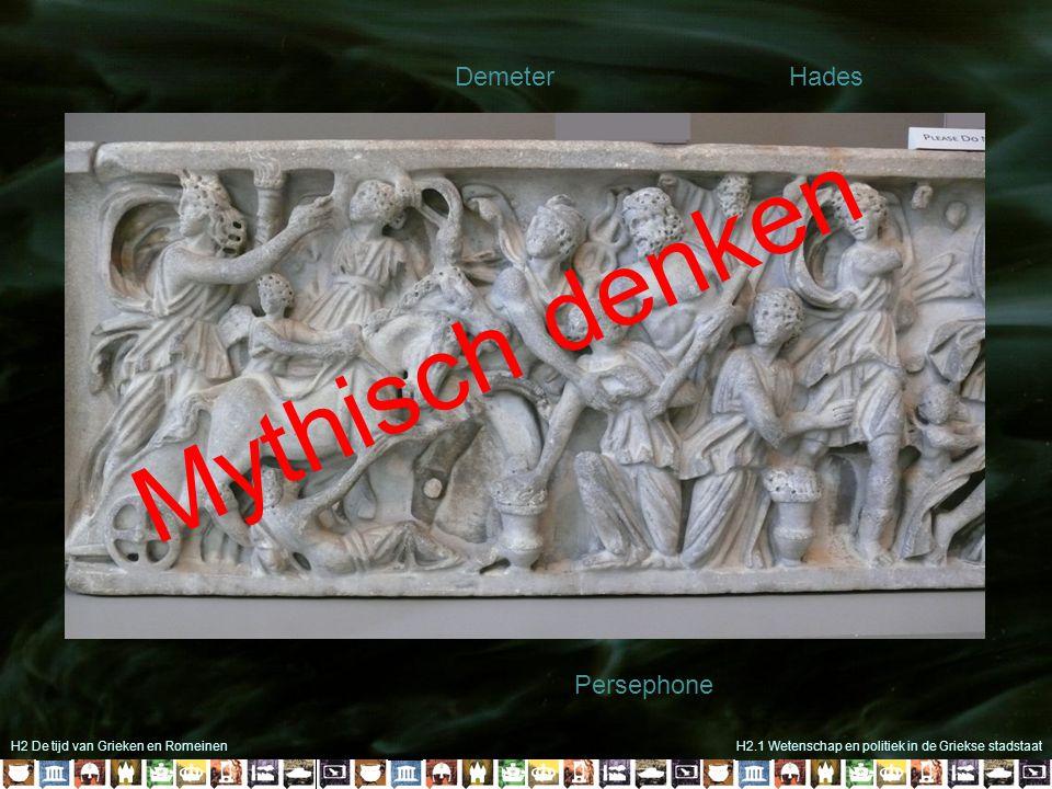 H2 De tijd van Grieken en Romeinen