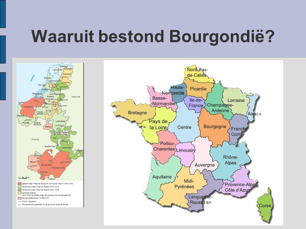 Waaruit bestond Bourgondië