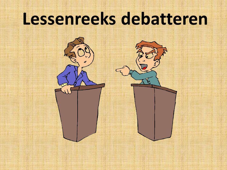 Lessenreeks debatteren