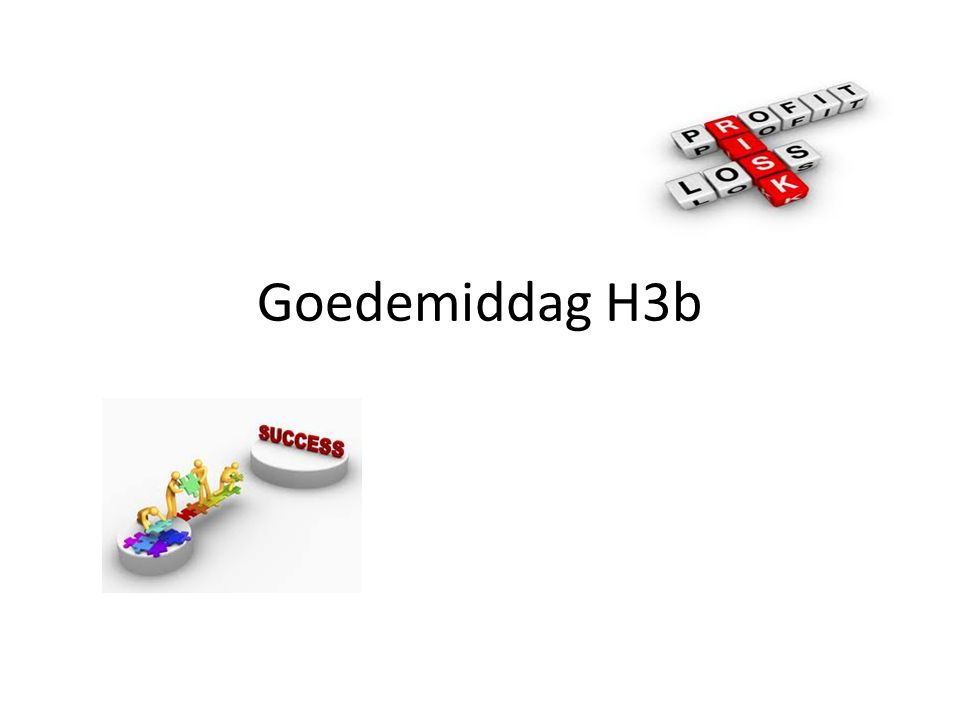Goedemiddag H3b