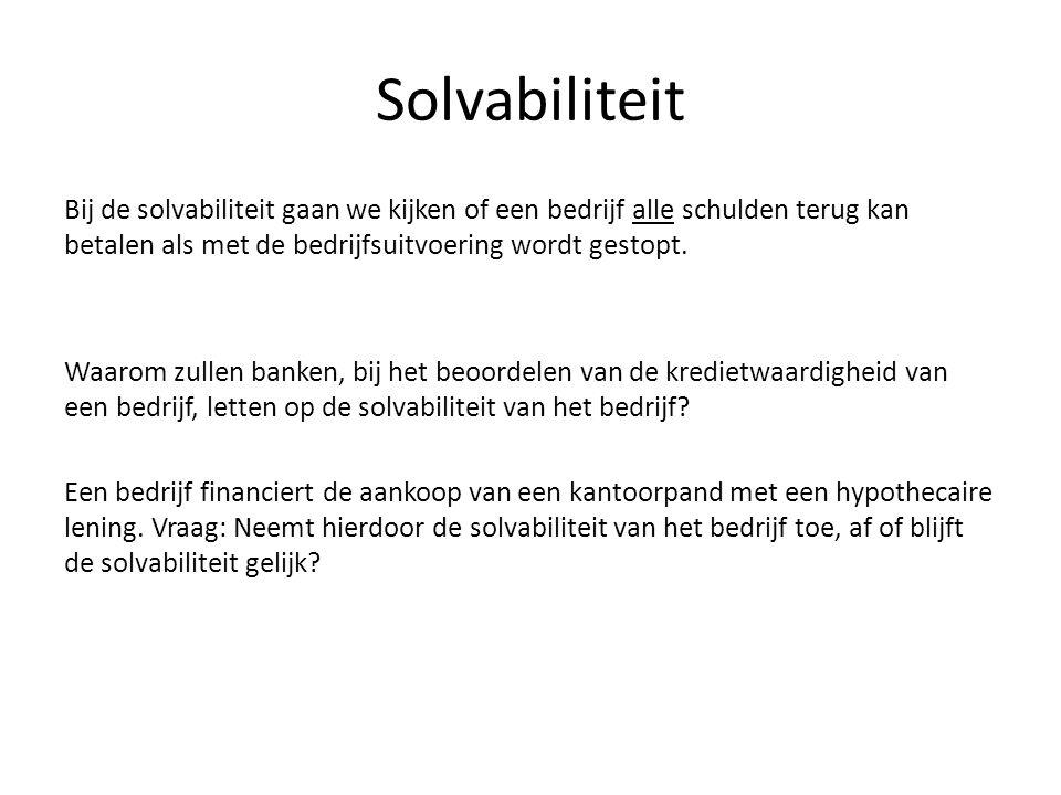 Solvabiliteit