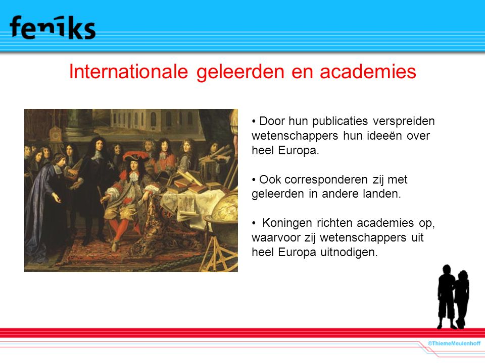 Internationale geleerden en academies