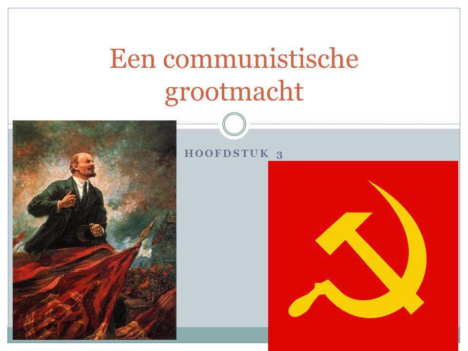 Een communistische grootmacht