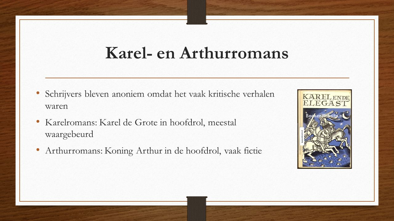 Karel- en Arthurromans