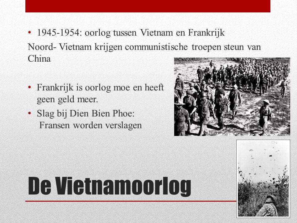 De Vietnamoorlog 1945-1954: oorlog tussen Vietnam en Frankrijk