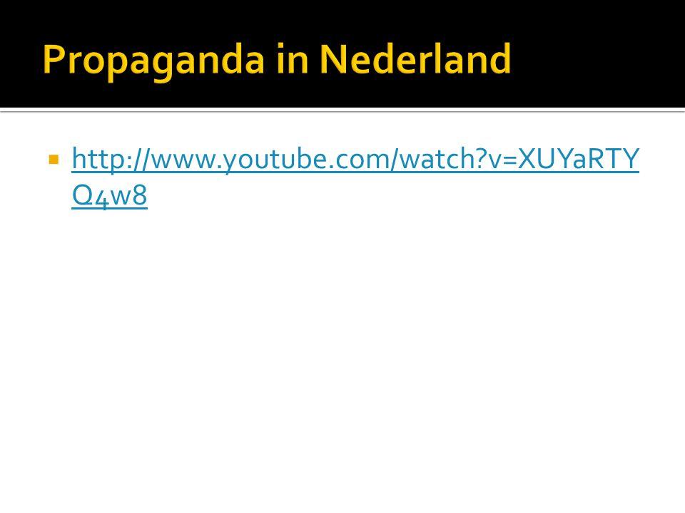 Propaganda in Nederland