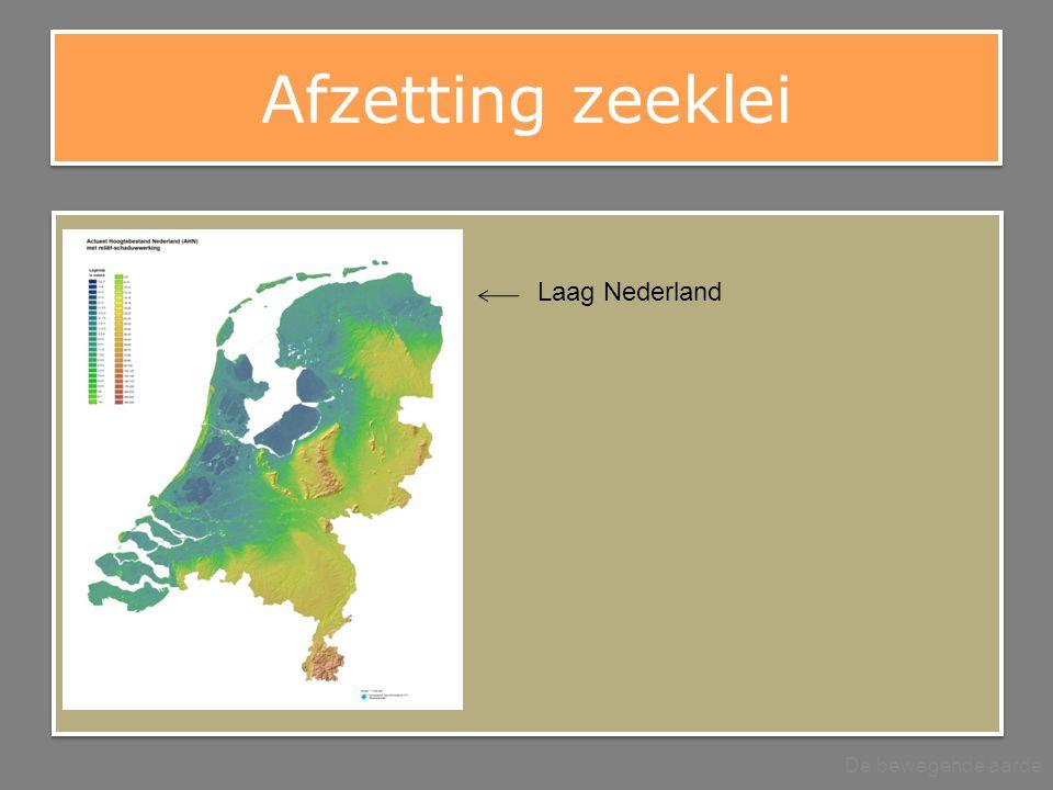 Afzetting zeeklei Laag Nederland De bewegende aarde