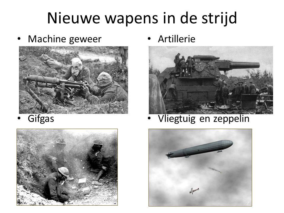Nieuwe wapens in de strijd