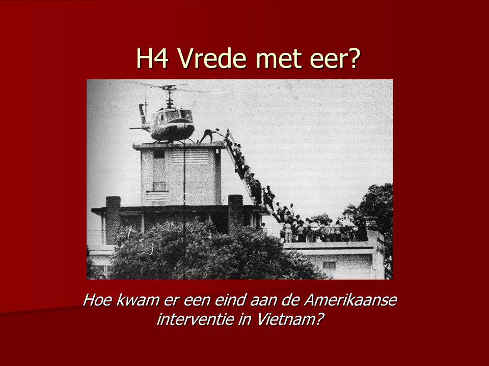 Hoe kwam er een eind aan de Amerikaanse interventie in Vietnam
