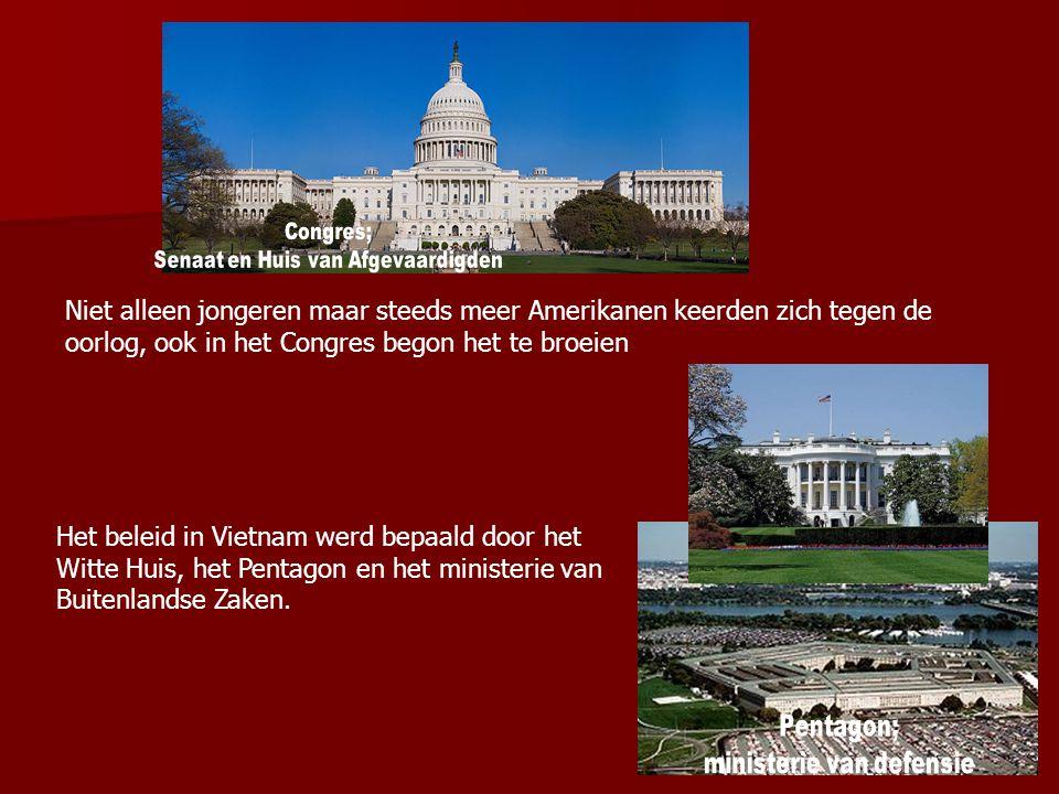 Congres; Senaat en Huis van Afgevaardigden.