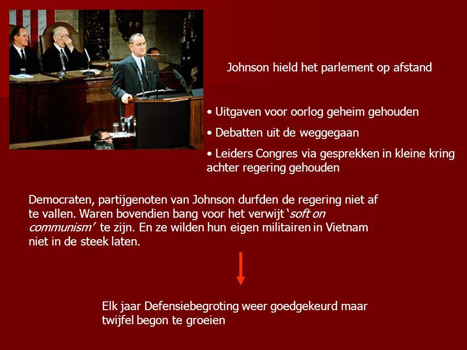 Johnson hield het parlement op afstand