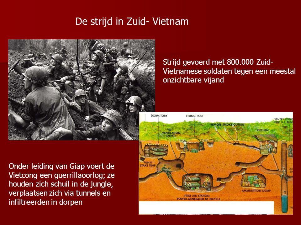 De strijd in Zuid- Vietnam