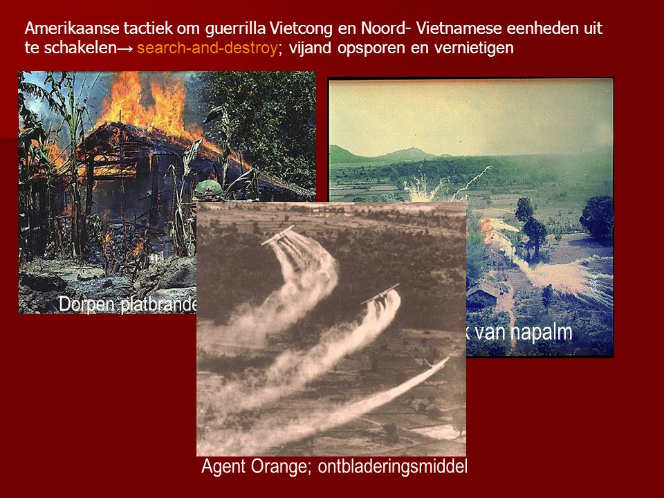 Agent Orange; ontbladeringsmiddel