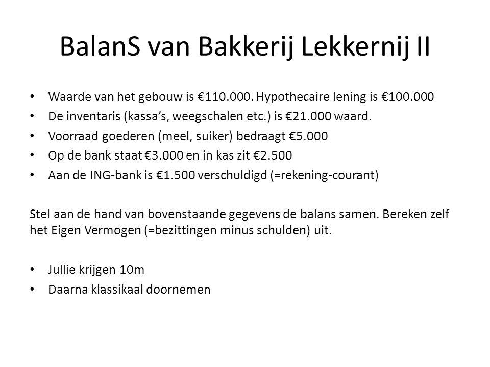 BalanS van Bakkerij Lekkernij II