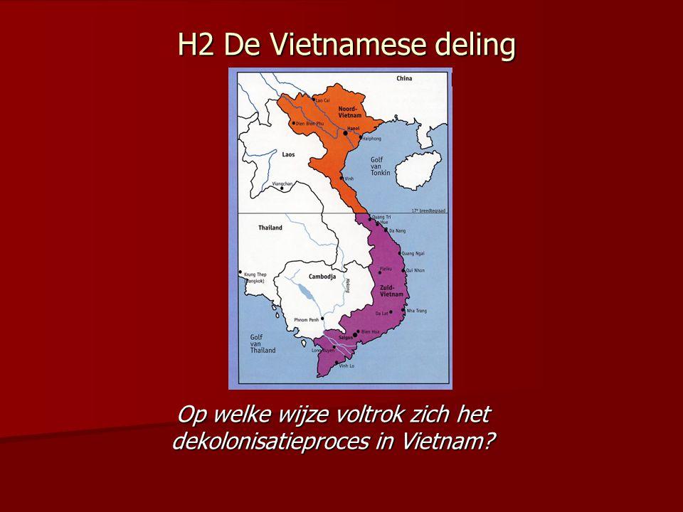 Op welke wijze voltrok zich het dekolonisatieproces in Vietnam