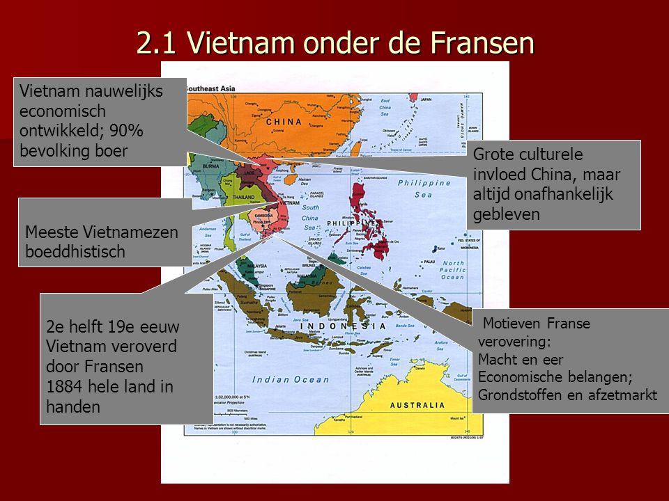 2.1 Vietnam onder de Fransen
