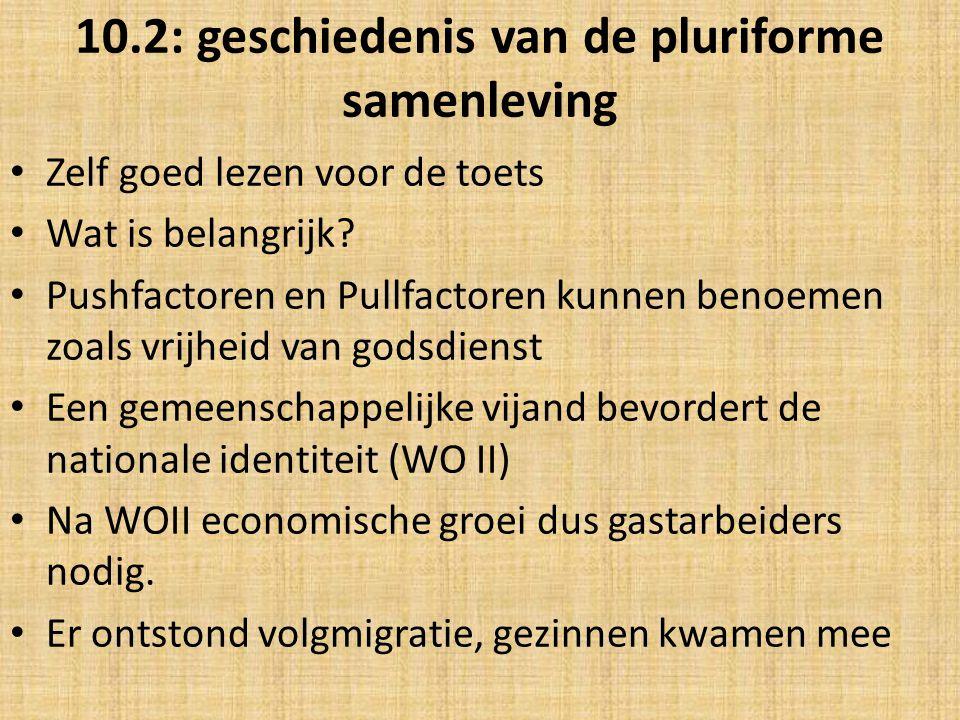 10.2: geschiedenis van de pluriforme samenleving