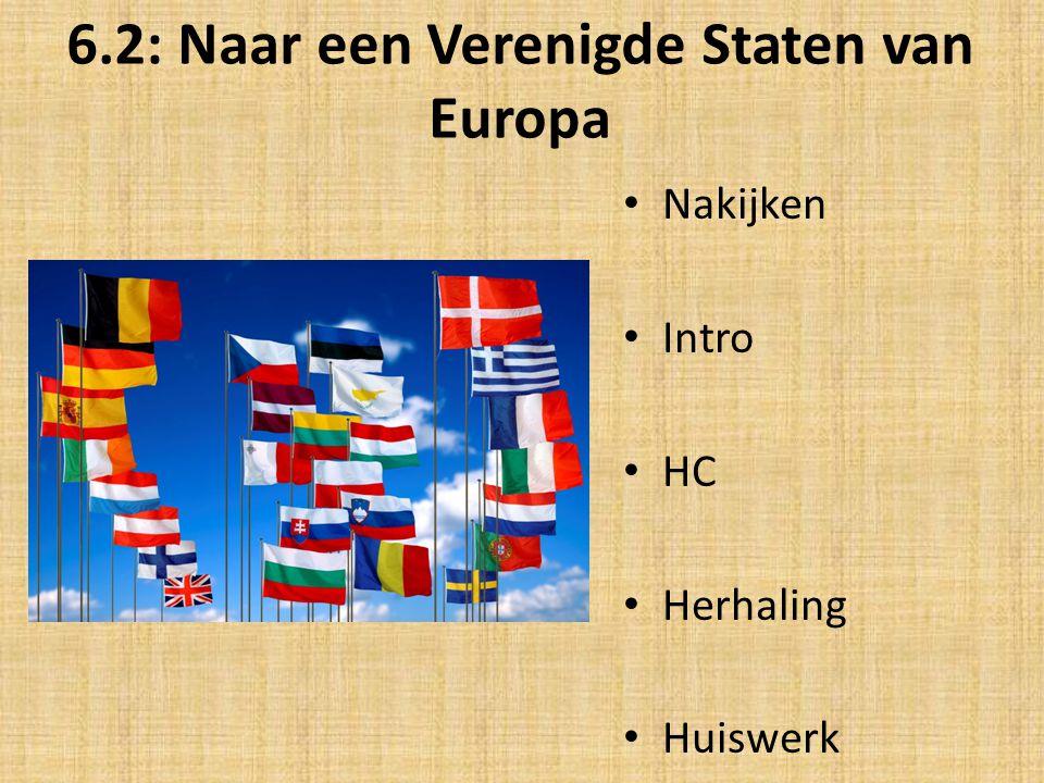 6.2: Naar een Verenigde Staten van Europa