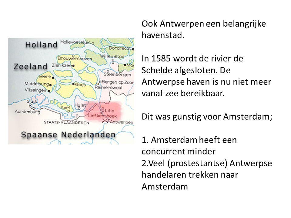 Ook Antwerpen een belangrijke havenstad