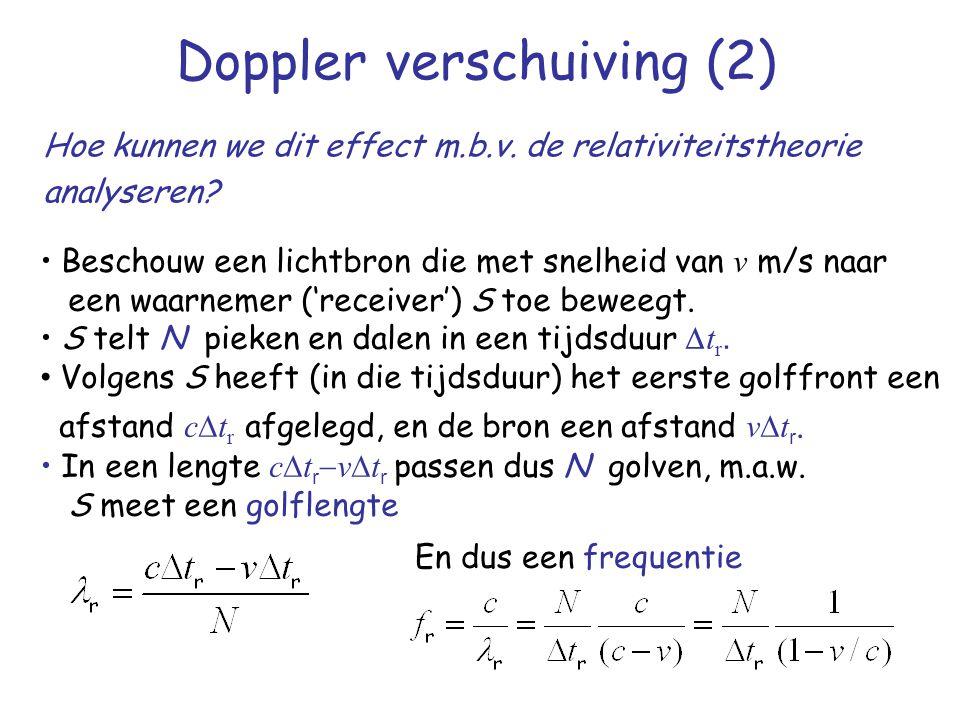 Doppler verschuiving (2)