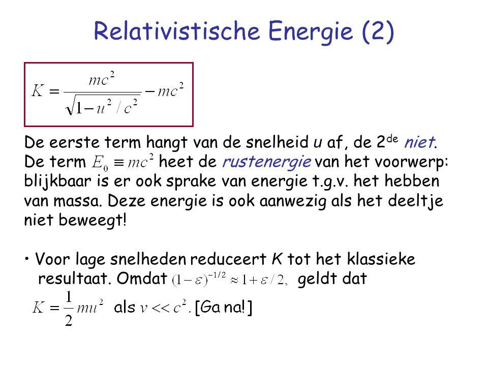 Relativistische Energie (2)