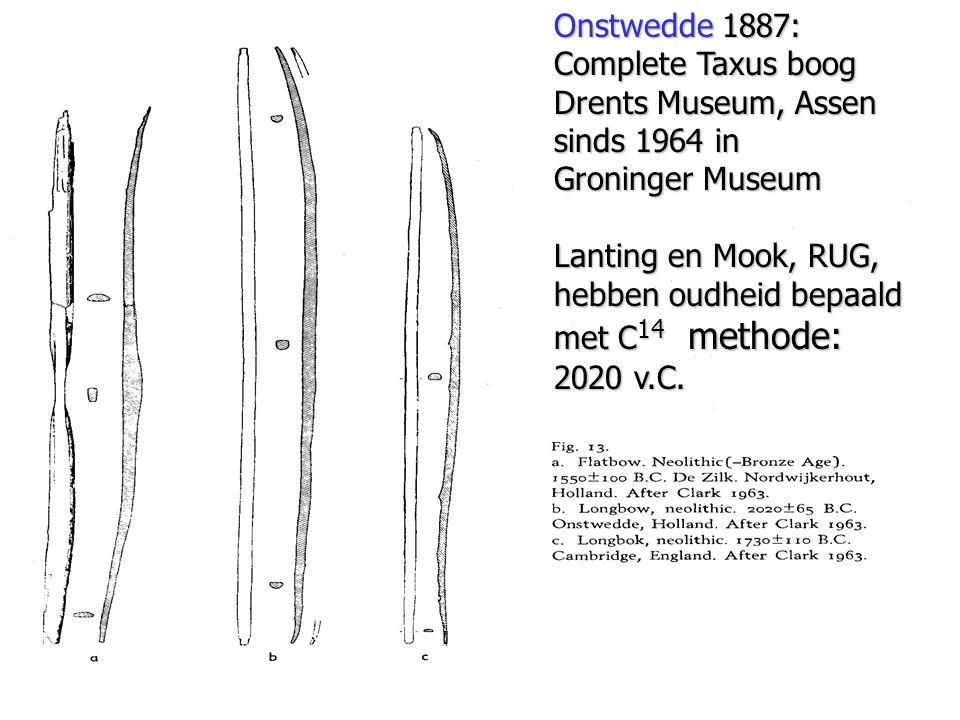 hebben oudheid bepaald met C14 methode: 2020 v.C.