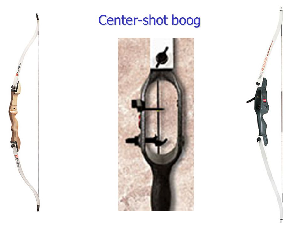 Center-shot boog