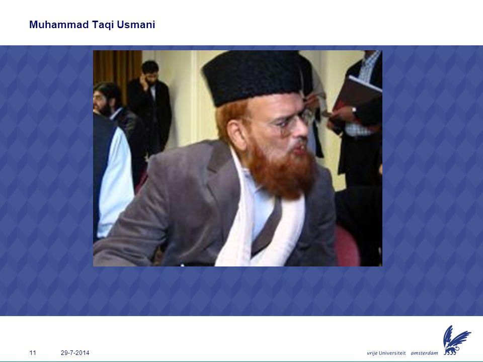 Muhammad Taqi Usmani 4-4-2017