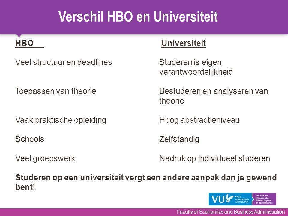 Verschil HBO en Universiteit