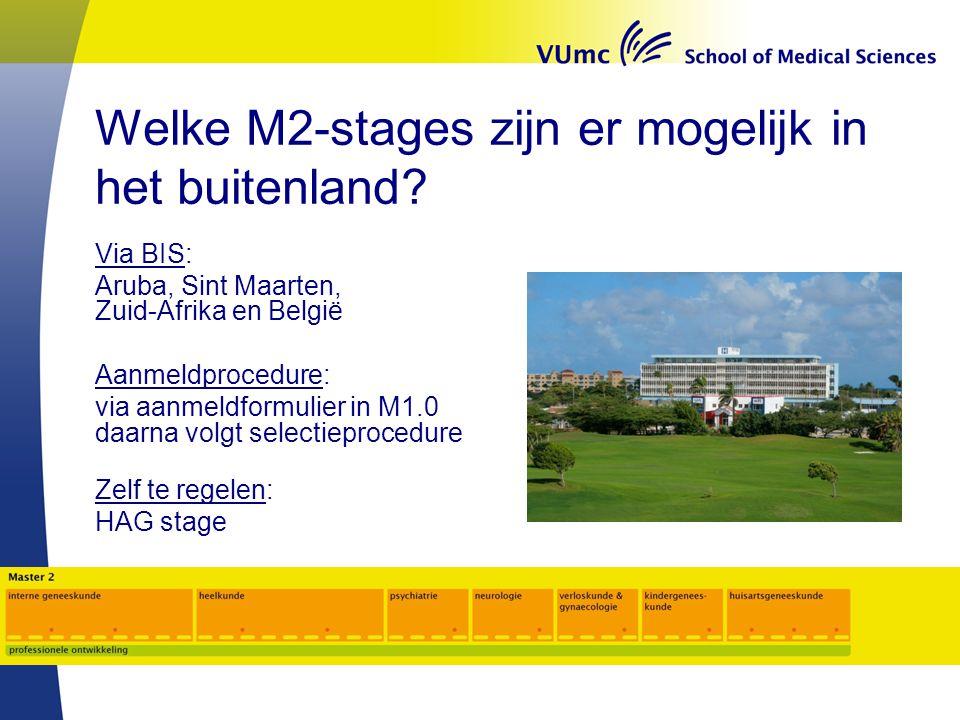 Welke M2-stages zijn er mogelijk in het buitenland